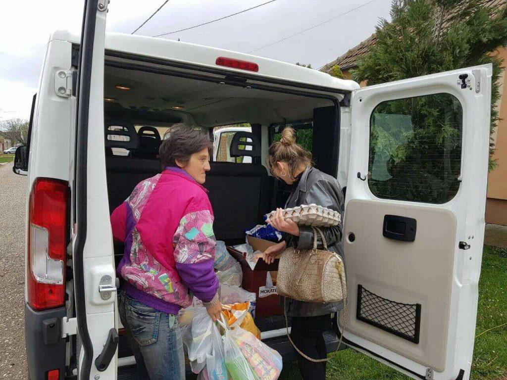 Donacija prehrambrenih proizvoda porodici Kostić 2