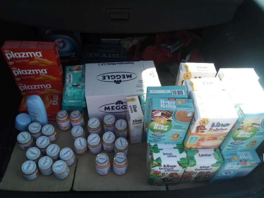 Food supplies for Nemanja Apostolović 3