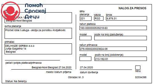 Namirnice za porodicu Anđelković 6