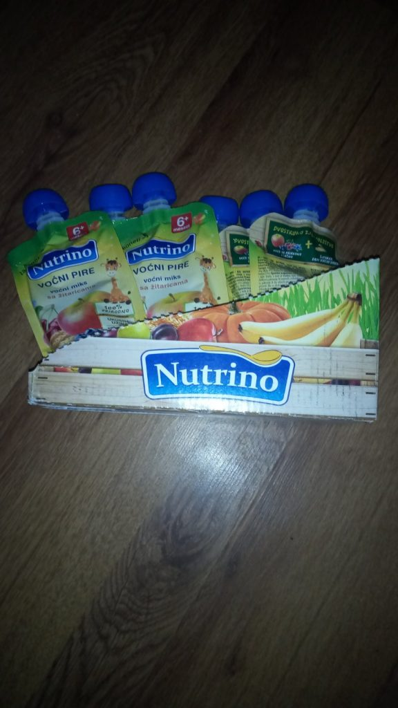 Several monthly supplies of food for Nemanja Apostolović 1
