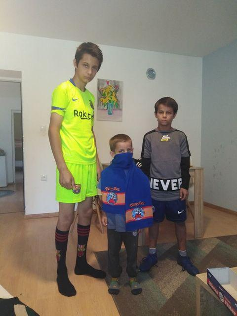 Donacija garderobe za porodicu Pavlović 3