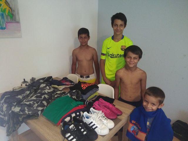 Donacija garderobe za porodicu Pavlović 4