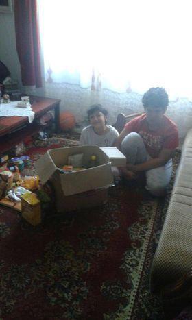 Donacija namirnica za porodicu Biserčić 1