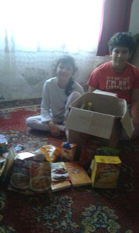 Donacija namirnica za porodicu Biserčić 2