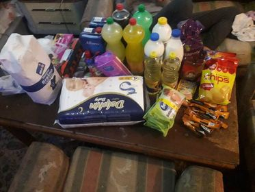 Groceries for the Magovac family 1