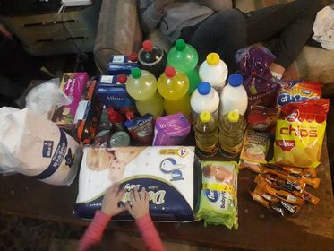 Groceries for the Magovac family 2